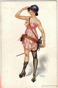 Chéri Hérouard, cartolina della Prima Guerra Mondiale