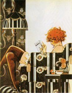 Chéri Hérouard, illustrazione per La Vie Parisienne, 1925