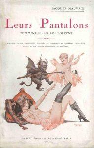 "Chéri Hérouard, copertina del libro ""Leurs Pantalons"" di Jacques Mauvain, edizione 1923"