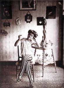 E.J. Bellocq: Storyville Portrait, Nude #10 (1915 circa)