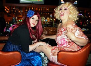 Dirty Martini e Holli Mae Johnson al BHoF nel 2011