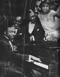 Count Basie al piano negli anni '20
